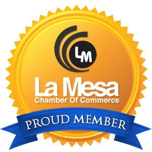 Proud Member of the La Mesa Chamber of Commerce