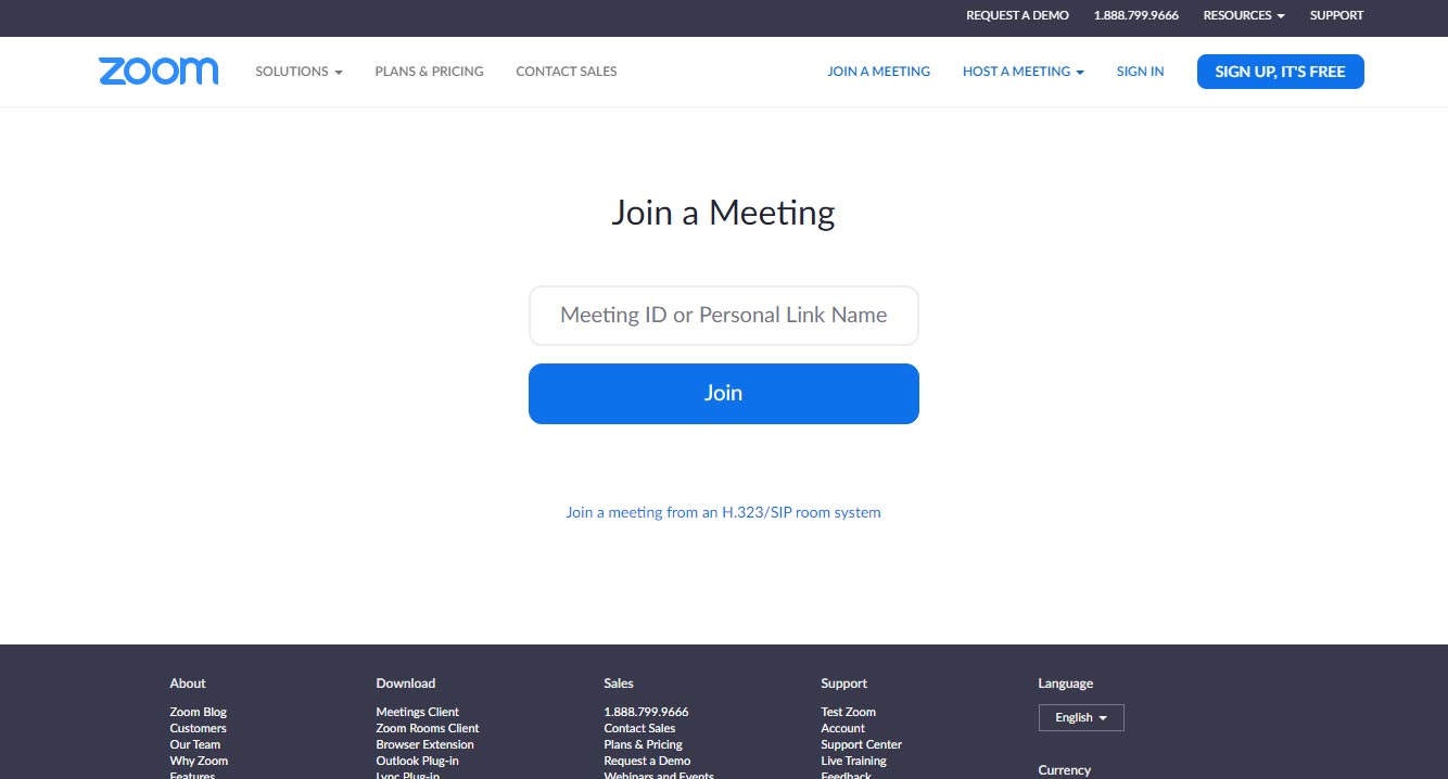 Join a Meeting Here