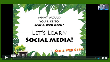 AaWG: Let's Learn Social Media