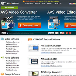 AVS4YOU - Audio, Video and Image Editing Software